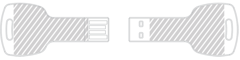 USB隨身行動碟 激光雕刻