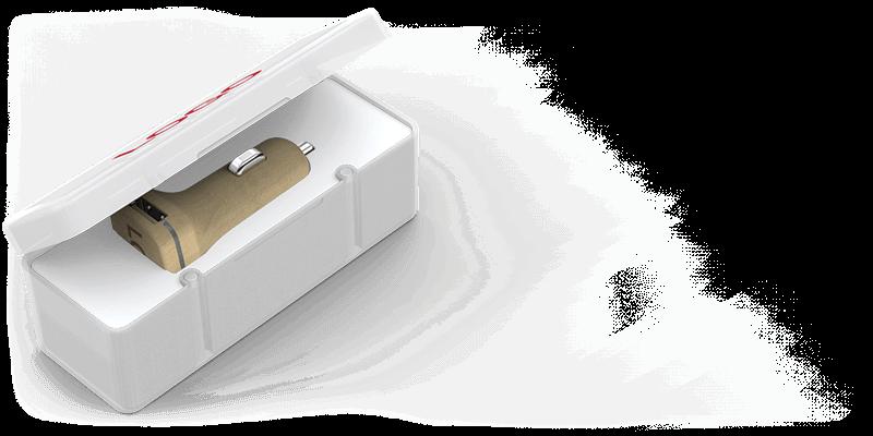 Woodie - 客製化車載充電器