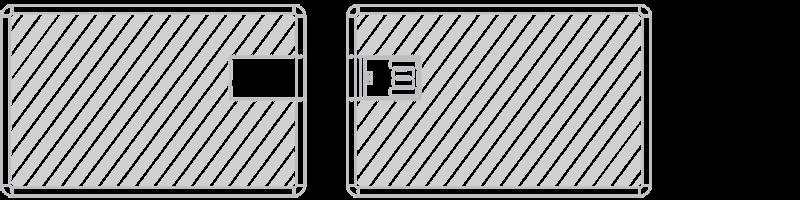 USB卡片型隨身行動碟 網版印刷