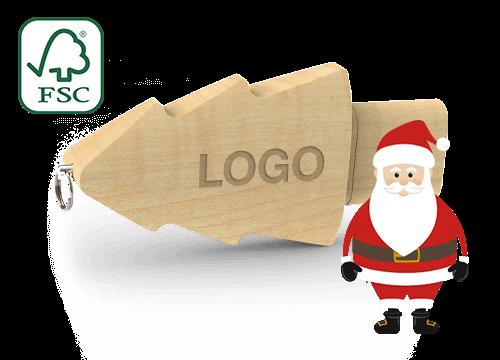 Christmas - Personalized Christmas Tree USB Drives