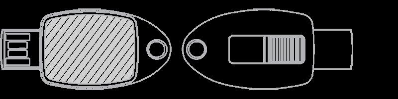 USB隨身行動碟 相片印刷