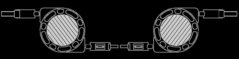 USB電纜  相片印刷